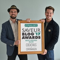 Best drinks blog 2017 Saveur blog awards, Cocktails of Copenhagen