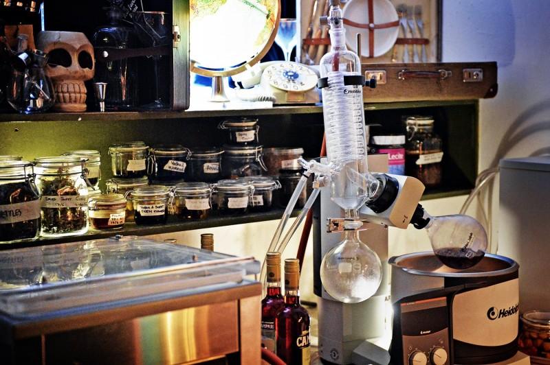 Balderdash cocktail lab