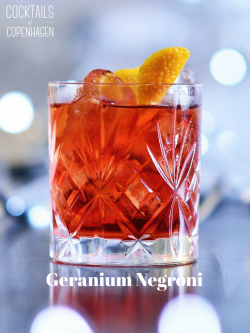 Geranium Negroni, photo by Alexander Banck Petersen