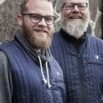 Sune Urth and Henrik Brinks from Copenhagen Distillery