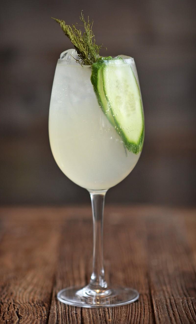 Nordic Mule - aquavit cocktail
