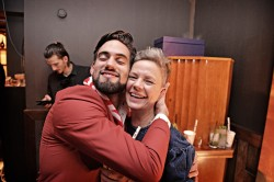 Antonio Saldanha de Oliveira from Curfew and Kirsten Holm from K-bar at Bacardi Legacy North European finals 2016