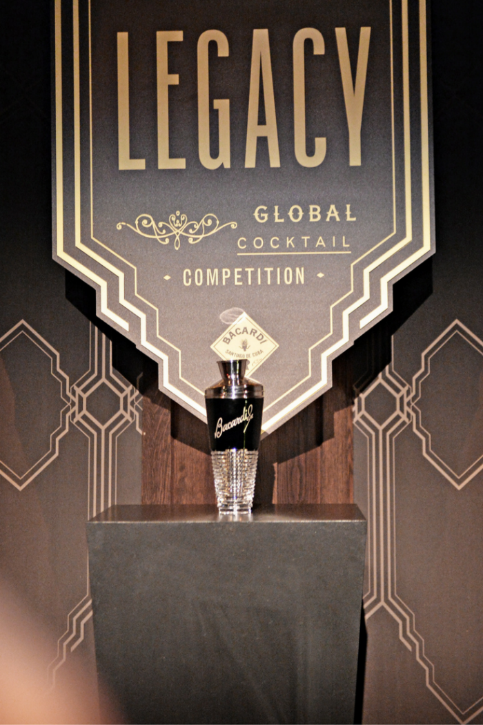 Bacardi Legacy North European finals trophy