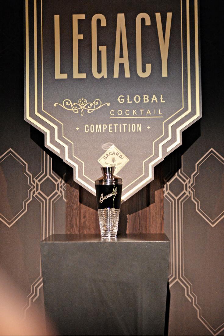 Bacardi Legacy North European finals trophy