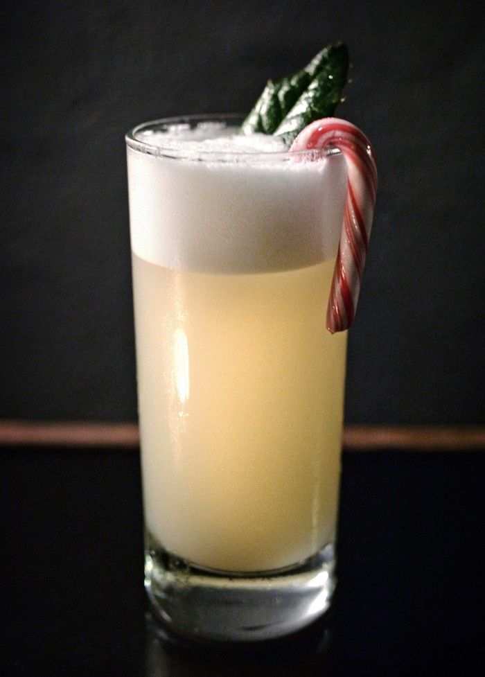 Bismarck Fizz - Christmas cocktail from Duck and Cover