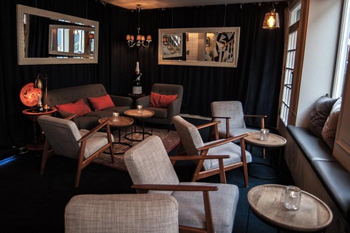 Kester Thomas - wine and champagne bar in Copenhagen. Photos by Rebecca Kjaergaard Leon.