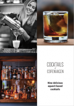 Free e-booklet on aquavit cocktails from Cocktails of Copenhagen.