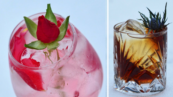 Beauty and the Beast cocktails