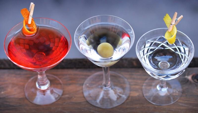 Tippler cocktails from Strøm cocktail bar