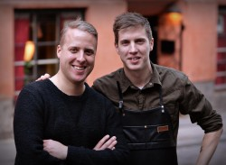 Mikael and Andreas Nilsson from Strøm Cocktail bar in Copenhagen