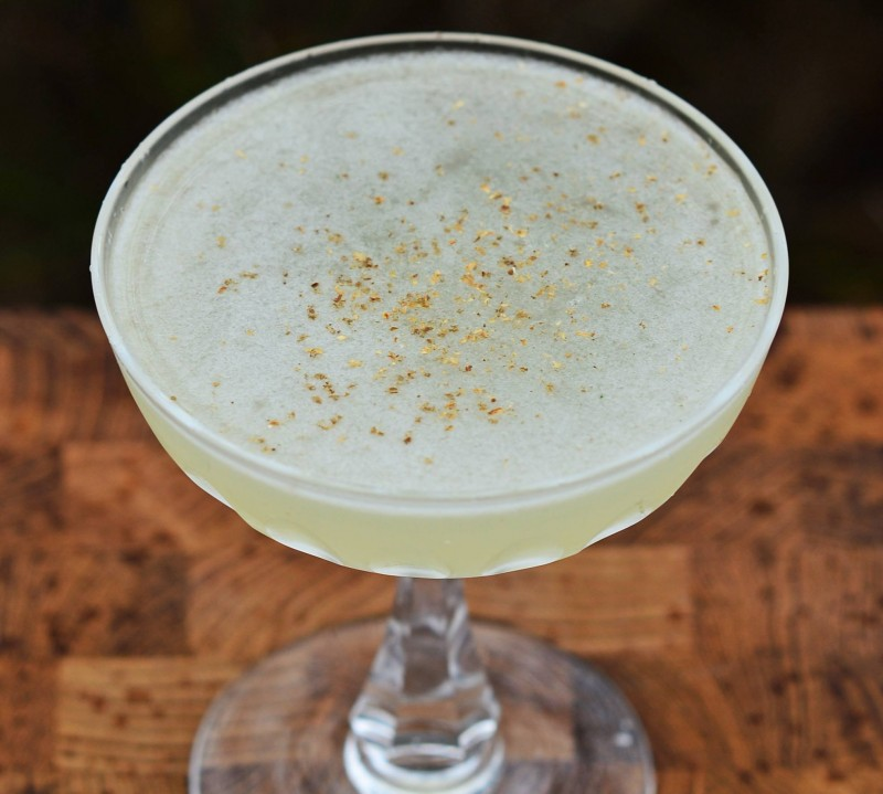 No.52 - a mouth watering aquavit cocktail made with Lysholm No.52 botanical aquavit.