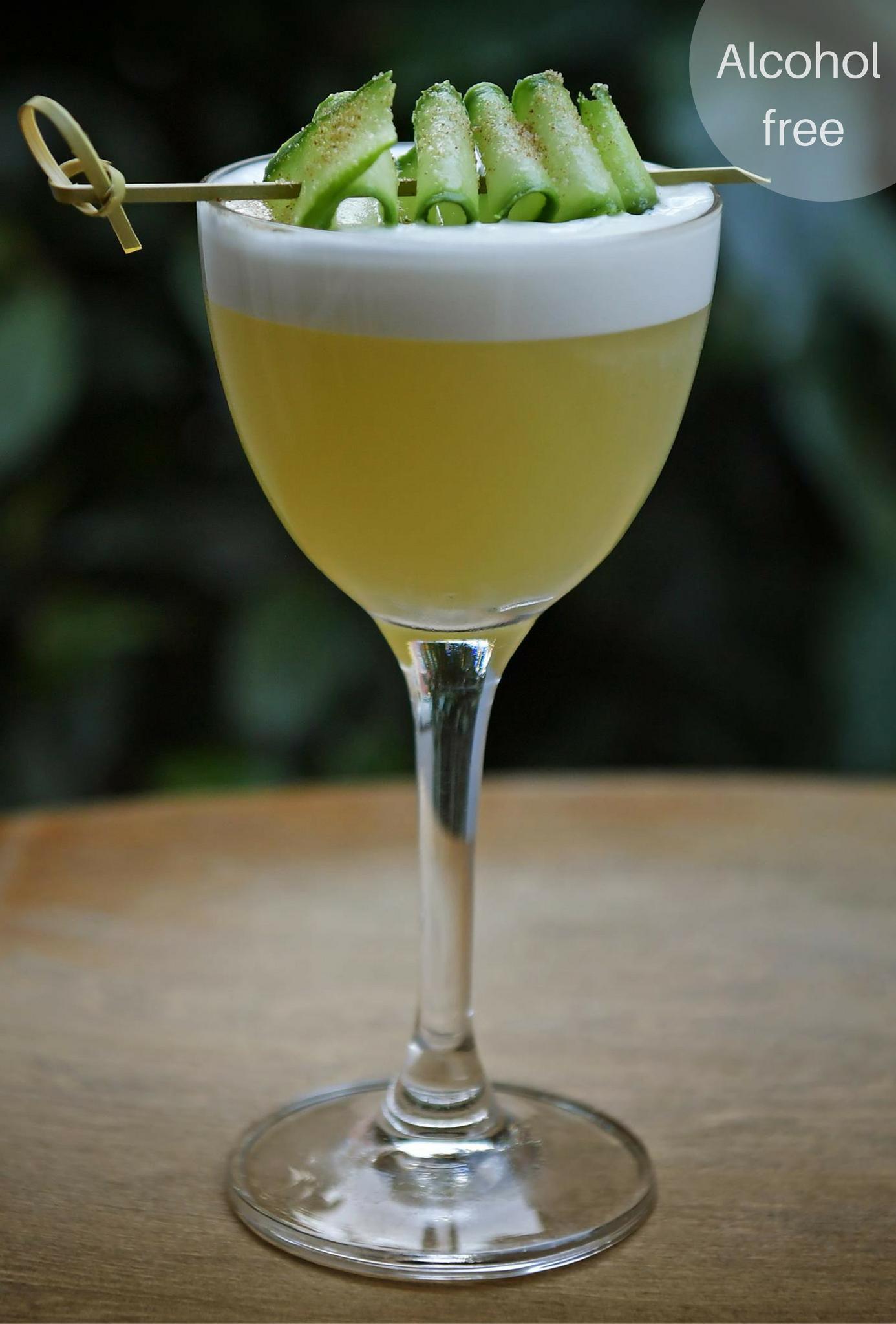 Dansk Forår - alcohol free Seedlip based cocktail from Kester Thomas