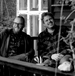 Sune and Rasmus - authors of Akvavit - Rediscovering a Nordic spirit