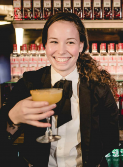 Marianna - Mixldn 2019 cocktail competition in Copenhagen
