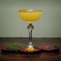 The North Land Reviver by Marianna Kozanyiova from Curfew cocktail bar for Mixldn 2017 Copenhagen