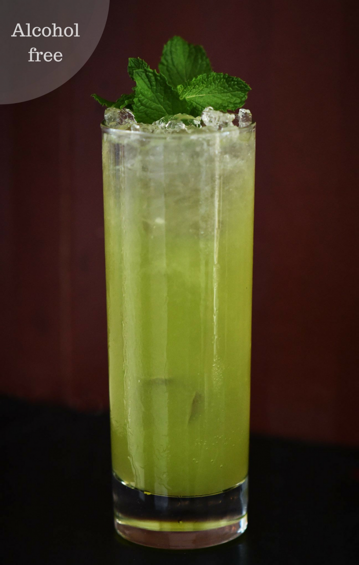 Civil Liberty - alcohol free cocktail from Salon 39.