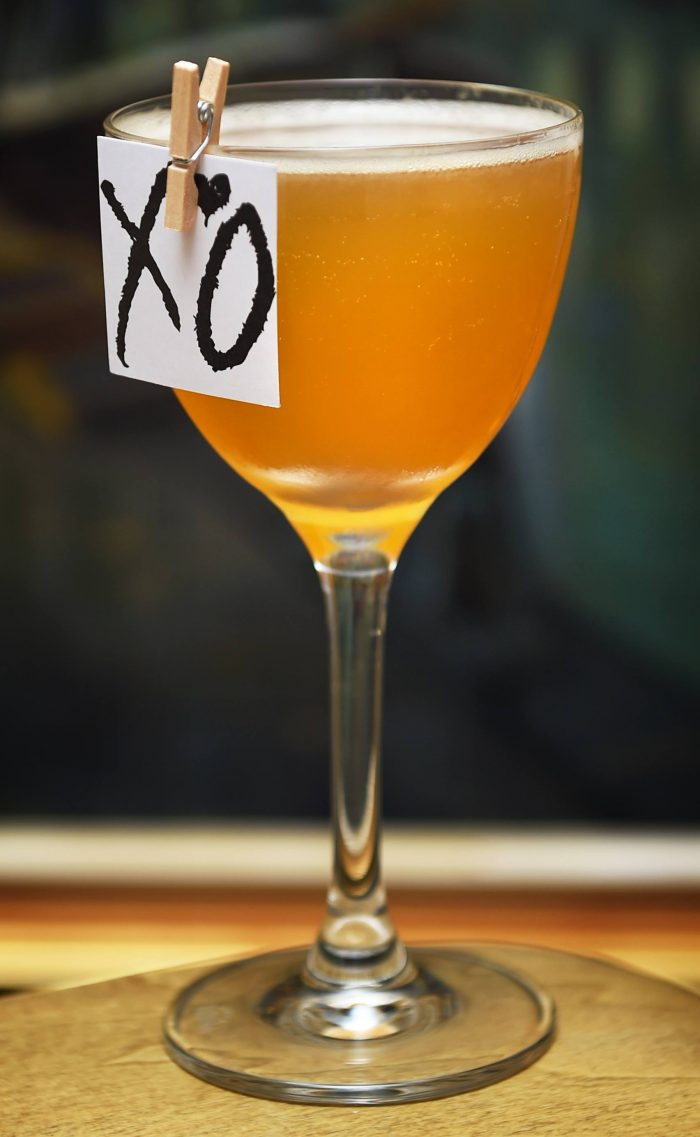 XO cognac based cocktail from Kester Thomas cocktail bar in Copenhagen