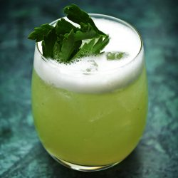 Evergreen Sour from Helium cocktail bar in Copenhagen