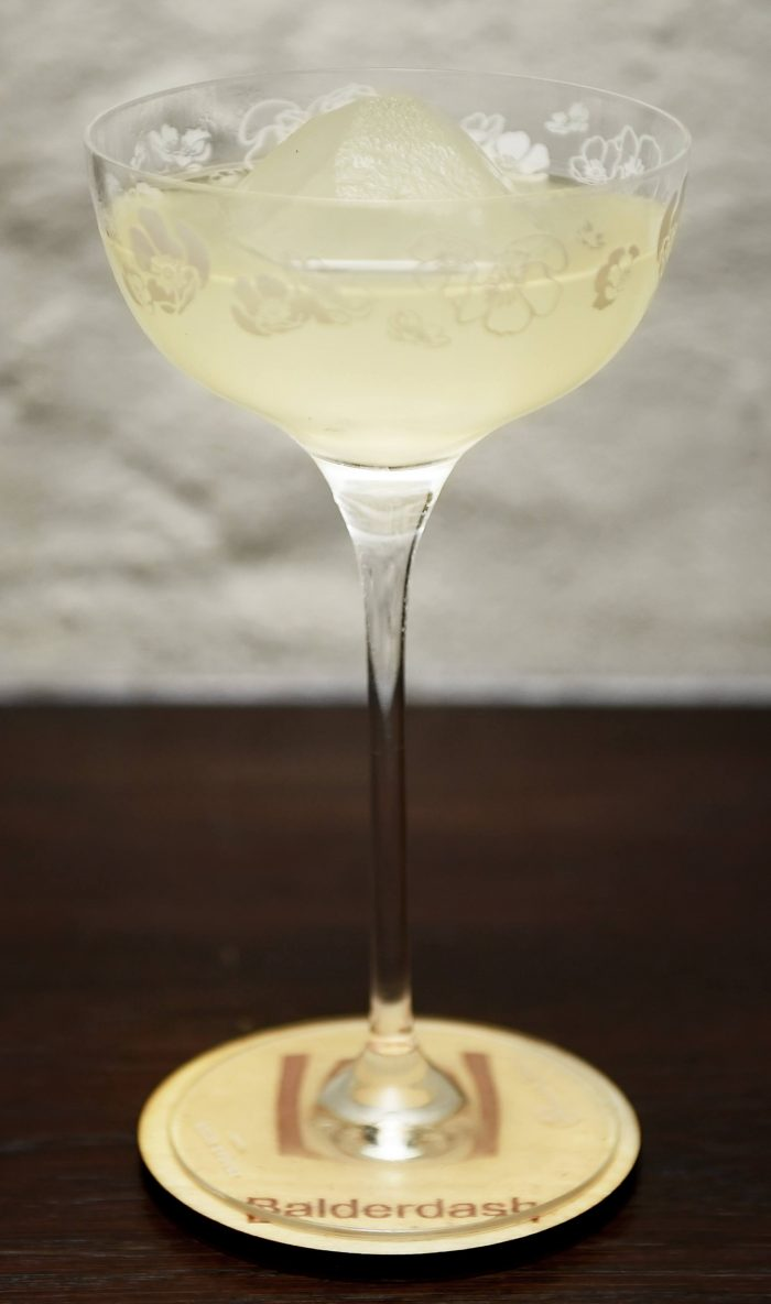 Blonde Ambition - craft cocktail from Balderdash in Copenhagen