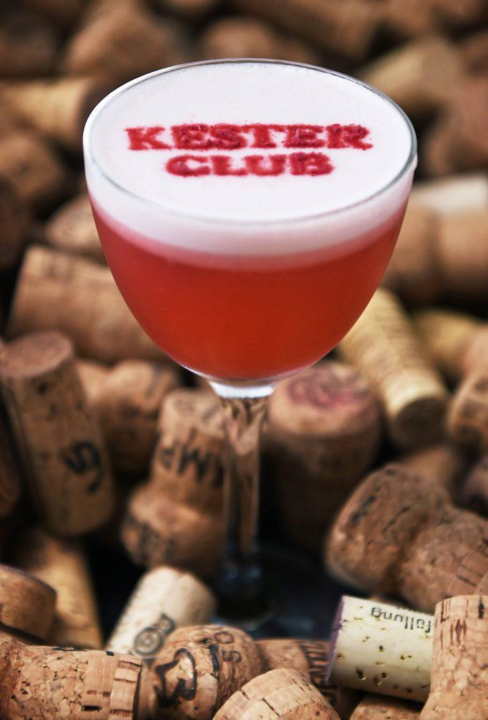 Kester Club cocktail by Erwan Le Bonniec from Kester Thomas