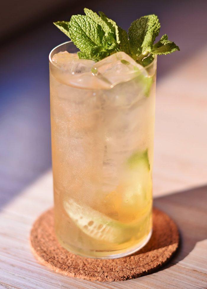 What Mr Lyan Said - vodka based cocktail from Gilt cocktail bar in Copenhagen